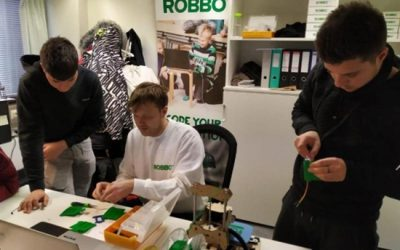 ROBBO taught schoolchildren robotics under Erasmus+ program